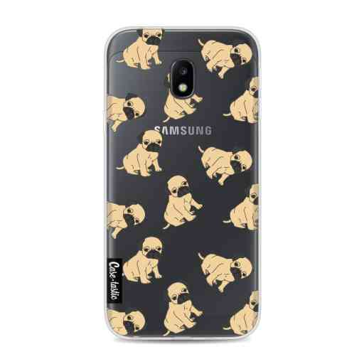 Casetastic Softcover Samsung Galaxy J3 (2017)  - Pug Trouble