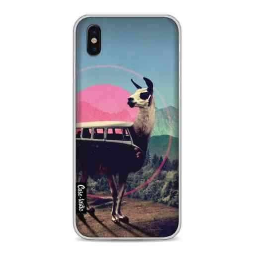 Casetastic Softcover Apple iPhone X / XS - Llama