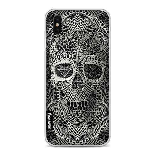 Casetastic Softcover Apple iPhone X / XS - Lace Skull