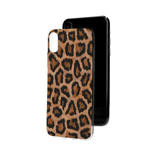 Casetastic Softcover Apple iPhone X / XS - Leopard