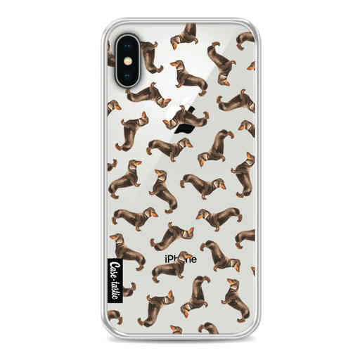 Casetastic Softcover Apple iPhone X / XS - Teckel Twister