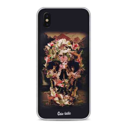 Casetastic Softcover Apple iPhone X / XS - Jungle Skull
