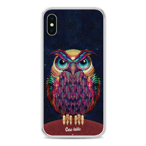 Casetastic Softcover Apple iPhone X / XS - Owl 2