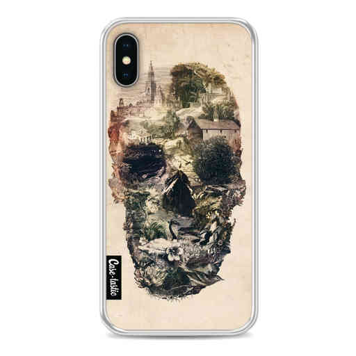 Casetastic Softcover Apple iPhone X / XS - Skull Town
