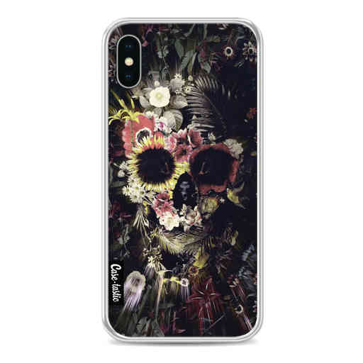 Casetastic Softcover Apple iPhone X / XS - Garden Skull