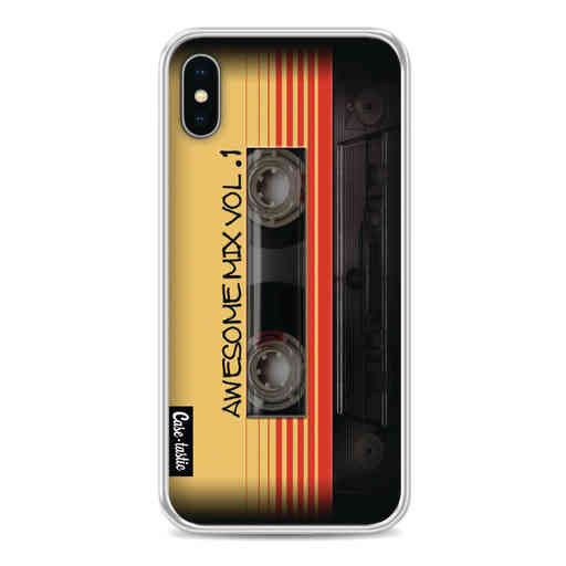 Casetastic Softcover Apple iPhone X / XS - Awesome Mix