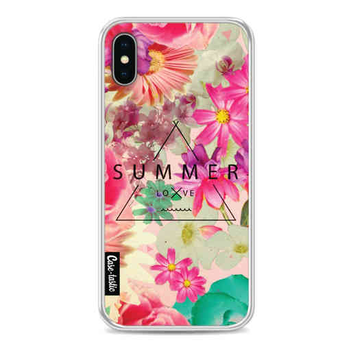 Casetastic Softcover Apple iPhone X / XS - Summer Love Flowers