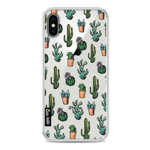 Casetastic Softcover Apple iPhone X / XS - Cactus Dream