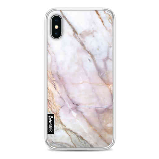 Casetastic Softcover Apple iPhone X / XS - Pink Marble