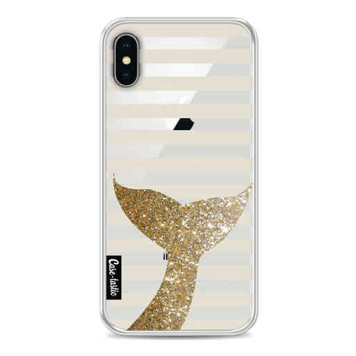 Casetastic Softcover Apple iPhone X / XS - Glitter Sirene Tail