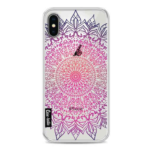 Casetastic Softcover Apple iPhone X / XS - Happy Mandala