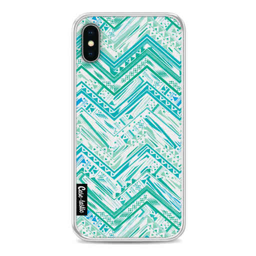Casetastic Softcover Apple iPhone X / XS - Mint Tribal