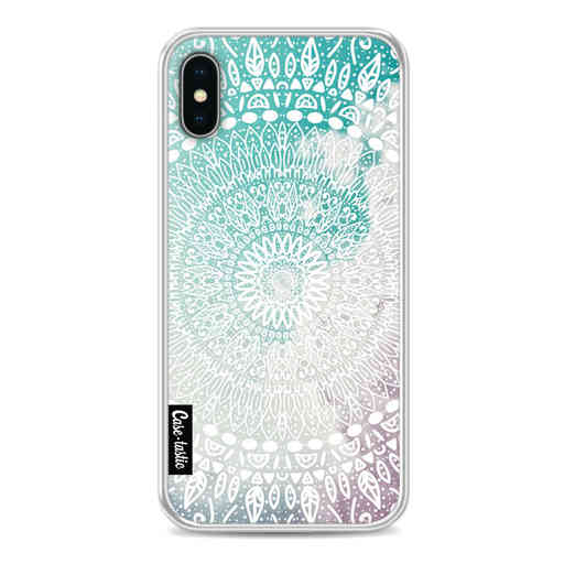 Casetastic Softcover Apple iPhone X / XS - Rainbow Mandala