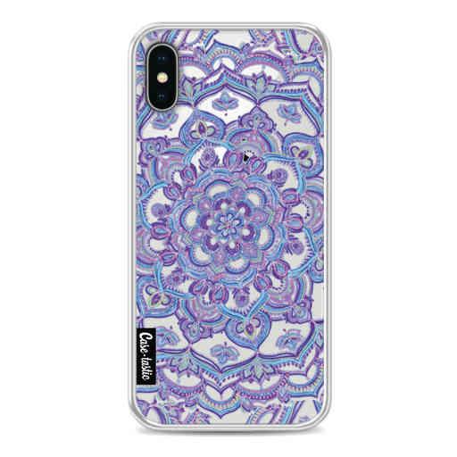 Casetastic Softcover Apple iPhone X / XS - Spring Mandala
