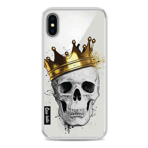 Casetastic Softcover Apple iPhone X / XS - Royal Skull