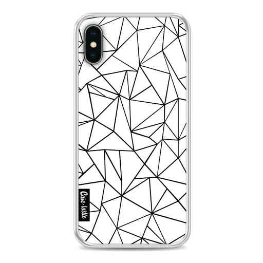 Casetastic Softcover Apple iPhone X / XS - Abstraction Outline