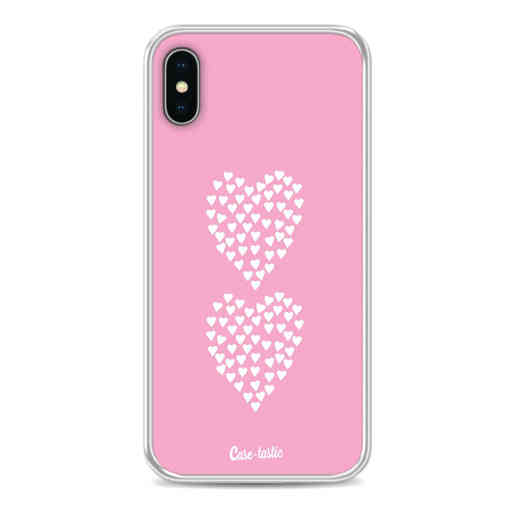 Casetastic Softcover Apple iPhone X / XS - Hearts Heart 2 Pink