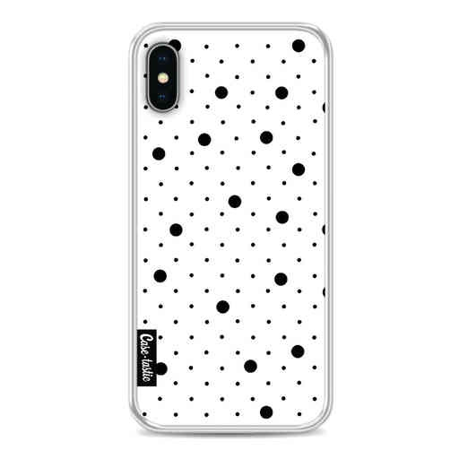 Casetastic Softcover Apple iPhone X / XS - Pin Points Polka