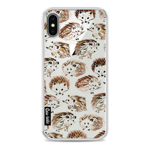 Casetastic Softcover Apple iPhone X / XS - Hedgehogs