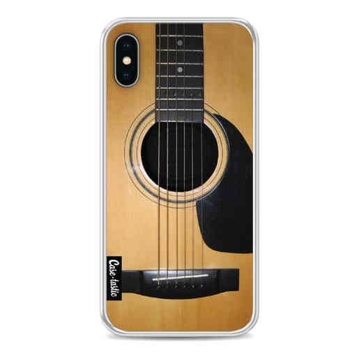 Casetastic Softcover Apple iPhone X / XS - Guitar