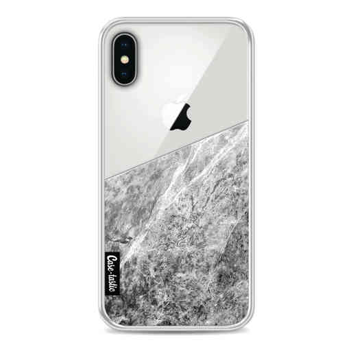 Casetastic Softcover Apple iPhone X / XS - Marble Transparent