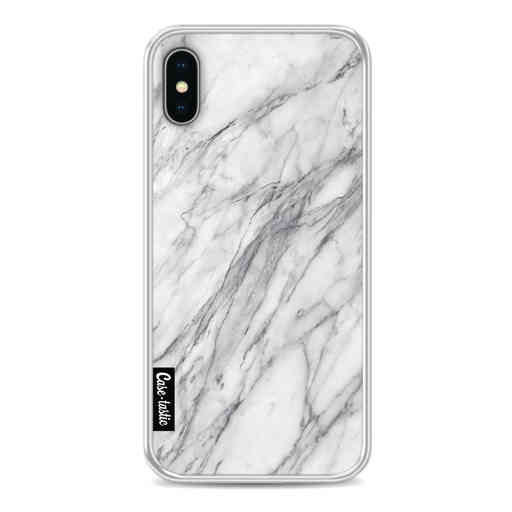 Casetastic Softcover Apple iPhone X / XS - Marble Contrast