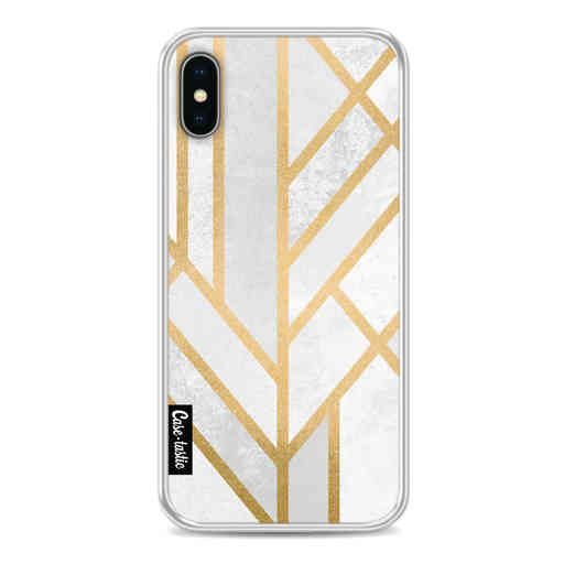 Casetastic Softcover Apple iPhone X / XS - Art Deco Geometry