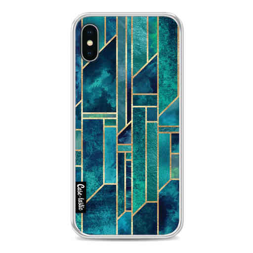 Casetastic Softcover Apple iPhone X / XS - Blue Skies