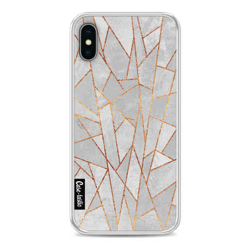 Casetastic Softcover Apple iPhone X / XS - Shattered Concrete