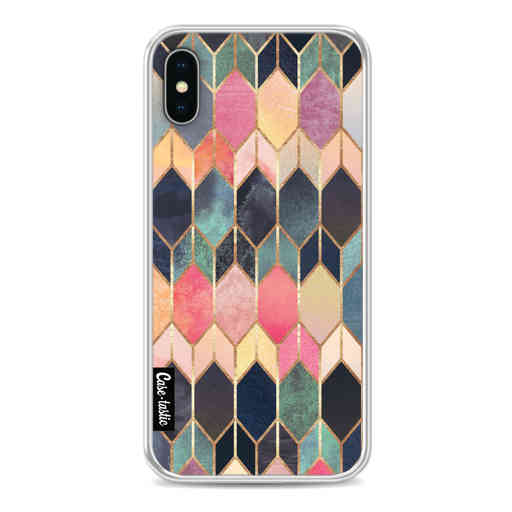 Casetastic Softcover Apple iPhone X / XS - Stained Glass Multi