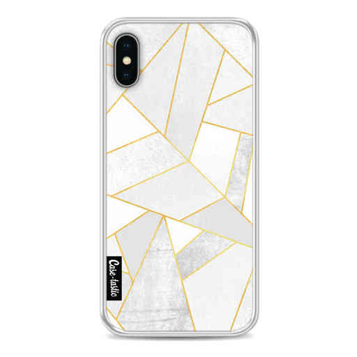 Casetastic Softcover Apple iPhone X / XS - White Stone