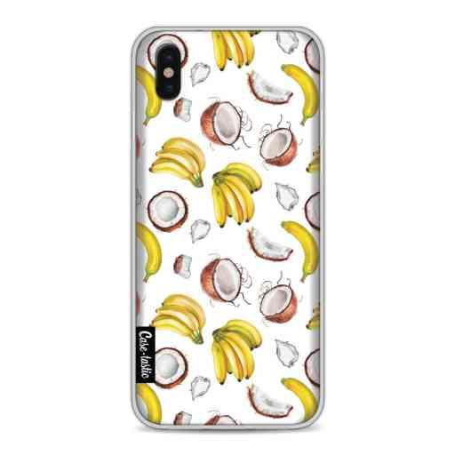 Casetastic Softcover Apple iPhone X / XS - Banana Coco Mania