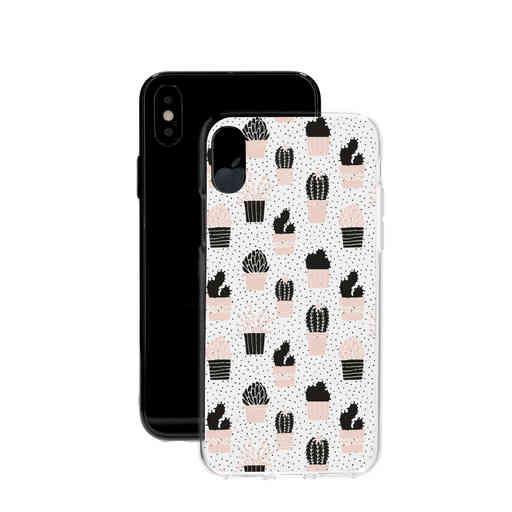 Casetastic Softcover Apple iPhone X / XS - Cactus Print