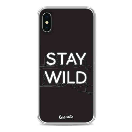 Casetastic Softcover Apple iPhone X / XS - Stay Wild Neon