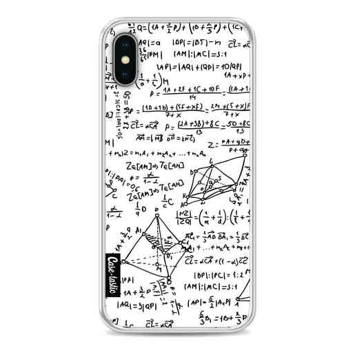 Casetastic Softcover Apple iPhone X / XS - You Do The Math White