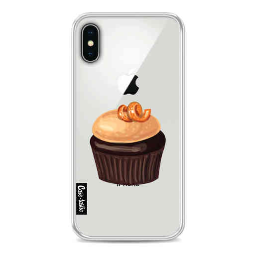 Casetastic Softcover Apple iPhone X / XS - The Big Cupcake