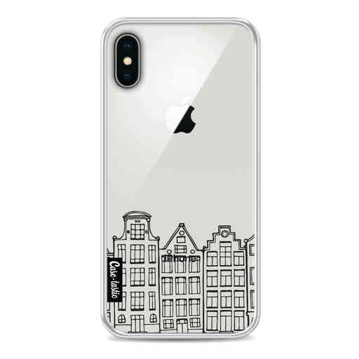 Casetastic Softcover Apple iPhone X / XS - Amsterdam Canal Houses