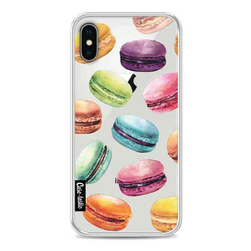 Casetastic Softcover Apple iPhone X / XS - Macaron Mania