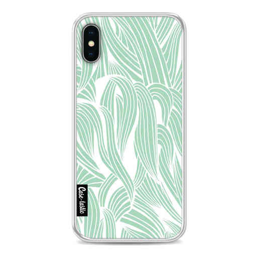 Casetastic Softcover Apple iPhone X / XS - Seam Foam Organic Print