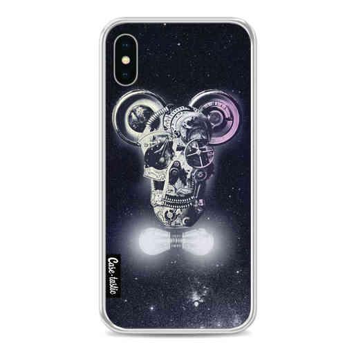 Casetastic Softcover Apple iPhone X / XS - Mechanic Skull