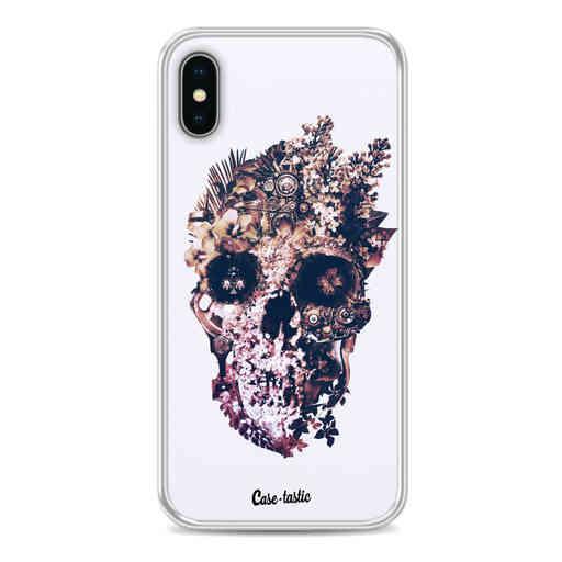 Casetastic Softcover Apple iPhone X / XS - Metamorphosis Skull