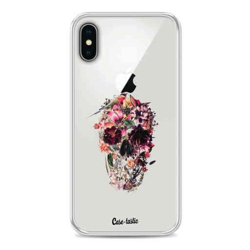 Casetastic Softcover Apple iPhone X / XS - Transparent Skull