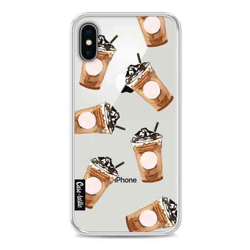 Casetastic Softcover Apple iPhone X / XS - Coffee To Go
