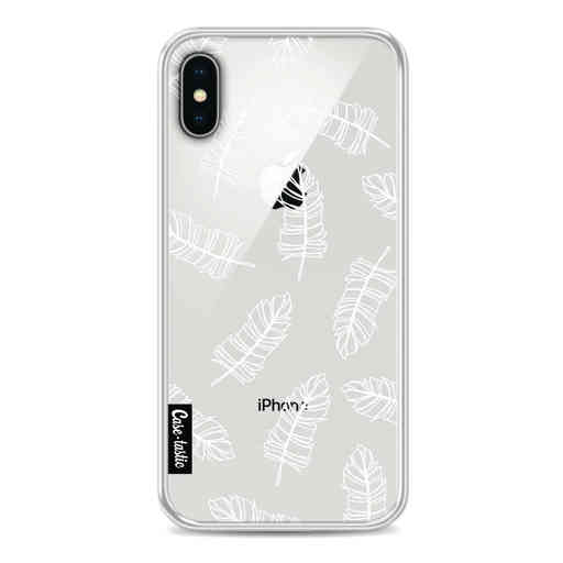 Casetastic Softcover Apple iPhone X / XS - Feathers Outline