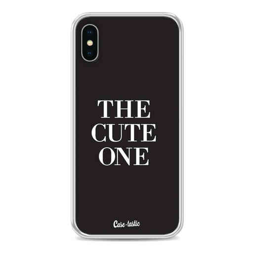 Casetastic Softcover Apple iPhone X / XS - The Cute One