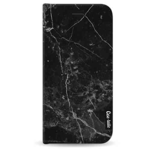 Casetastic Wallet Case Black Apple iPhone 8 - Black Marble