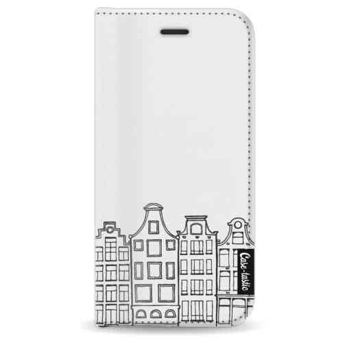 Casetastic Wallet Case White Apple iPhone 8 - Amsterdam Canal Houses