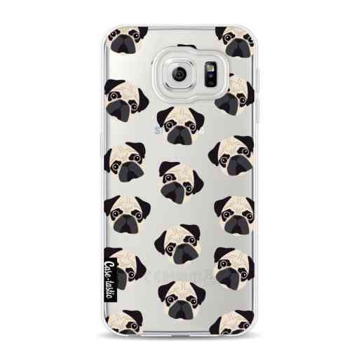 Casetastic Softcover Samsung Galaxy S6 - Pug Trouble