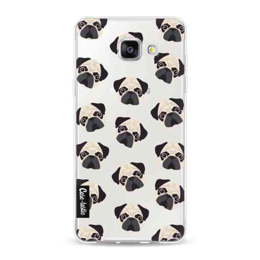 Casetastic Softcover Samsung Galaxy A5 (2016) - Pug Trouble