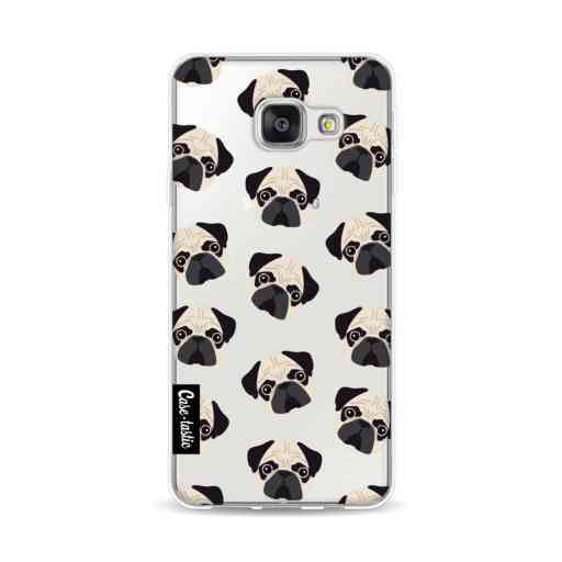 Casetastic Softcover Samsung Galaxy A3 (2016) - Pug Trouble